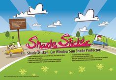 #shadesticker #windowprotector #car