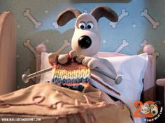 If only I had a dog like Gromit...love him.  And so handy too!