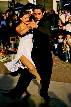A different form of street art—the tango in San Telmo, Buenos Aires, #Argentina