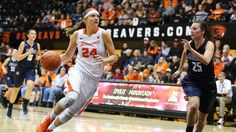 Three Oregon State women's basketball players named