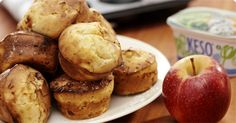 Juicy apple muffins