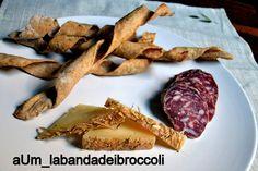 Spirali di grano verna con pecorino e salame toscano #siena #sienaandstars #toscana #food #labandadeibroccoli