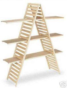 A Frame Display Shelf Portable with 3 Shelves | eBay More