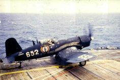 French Navy Corsair in operation, likely in Indochina (Viet Nam).