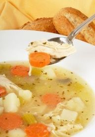 12 healty soup recipes for fall/ winter from spark people