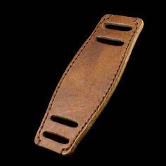 Handmade Leather Bund Pad Vintage 401 Italian Veg Tanned