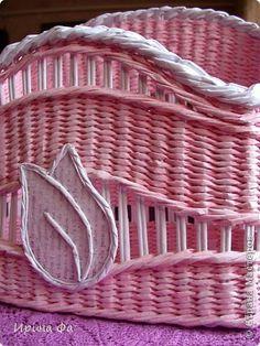 Поделка изделие Плетение Летняя коллекция Трубочки бумажные фото 2