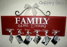 FHE board, I already have the board but need to update our family members, this is perfect!