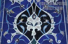 Islamic art tile