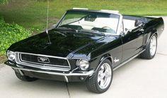 68 Mustang Convertible ford-mustangs