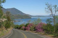 Drive along Soda Bay Road in Kelseyville, Lake County, CA
