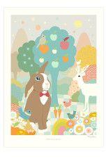 Majvillan Poster Chocolate Chocolate - Posters & tavlor   Ellos Mobile