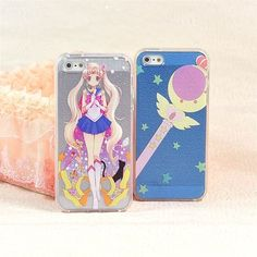 New Sailor Moon Crystal Power Wand iphone 6 plus case cover Japanese Anime  #Unbranded