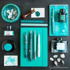 Goulet Pens Blog: Thursday Things: Mint Turquoise
