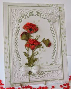 pamscrafts: Darling and Arched poppies..