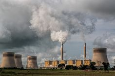 Power Station, Pollution, Energy, Electricity (PUBLIC DOMAIN)