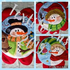 Christmas Decorations, Holiday Decor, Making Out, Ideas Para, Snowman, Xmas, Merry, Lily, Painting