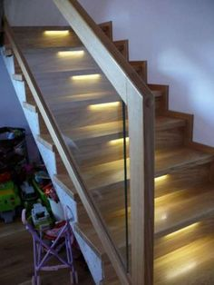 Modern Stairs, Banisters, Wooden Doors, Glass, Design, Bedroom, Home Decor, Ideas, Interior Stairs