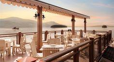 The Pavilion restaurant at the Sagamore Resort