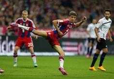 Müller the ballerina❤️⚽️ #MiaSanMia