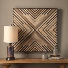 A Rustic Modern Fusion Of Pieced Fir Wood, Creating A 3-dimensional Geometric Pattern In Varying Shades Of Brown. Dimensions: 2.125Dx 40.375Wx 40.375H Material: MDF, FIR Weight: 28 Country Of Origin: China Prop 65 warning for CA customers Wooden Wall Decor, Wooden Wall Art, Diy Wall Art, Wooden Walls, Wall Art Decor, Wall Wood, Scrap Wood Art, Pallet Wall Art, Cool Wall Art