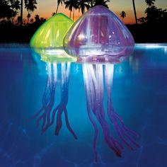 Fun jellyfish floating pool lights