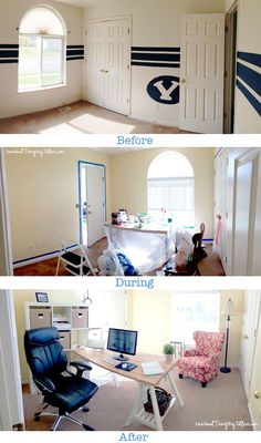 My Home Office Makeover!  (Plus, enter to win a 100.00 gift card to Staples!)