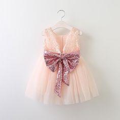 """The Stella"" Bow Lace Dress Blush Flower Girl Dresses, Lace Flower Girls, Girls Dresses, Pink Dress, Baby Girl Fashion, Toddler Fashion, Kids Fashion, Fashion Clothes, Dress Clothes"