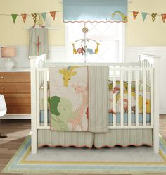 Circus Baby Bedding Set