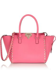 VALENTINO The Rockstud small leather trapeze bag