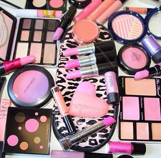 currently what my makeup desk looks like