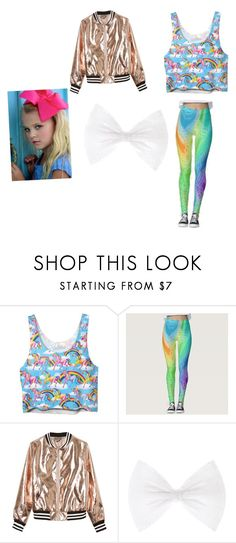 """Jojo siwa outfits"" by angelinaurena ❤ liked on Polyvore featuring Disney, Sans Souci and SIWA"