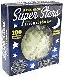 #10: Kangaroos Ultra Glow in the Dark Stars; 200 Count w/ Bonus Moon