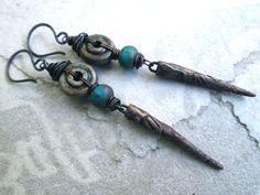 Hey, I found this really awesome Etsy listing at https://www.etsy.com/listing/201073374/kathmanduzy-urban-primitive-dangle