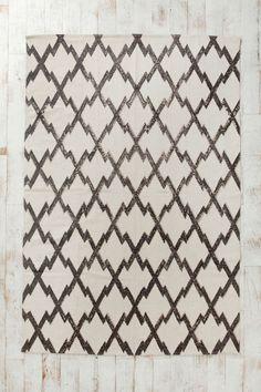 Magical Thinking Diamond-Stamp Handmade Rug