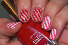 12 Days of Christmas Nail Art Challenge: Christmas Candy