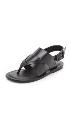 I need these Tibi Declan Flat Sandals