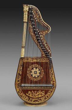 Dital harp, England,