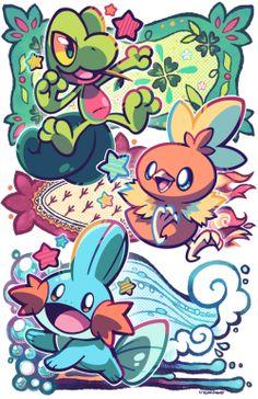 Ich hab in Pokémon Super Mystery Dungeon Geckabor und Hydropi genommen, einfach weil ich sie mag