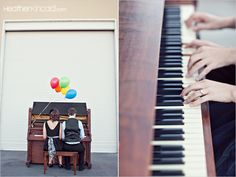 engagement photo piano - Google Search