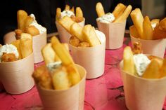 Kidei cones at food expo australia fish 'n chips