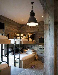 Rustic decor - just wood #benchbagstheblog