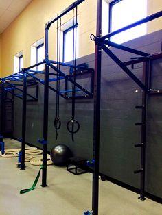 Custom Wall FTS & Pull-up bracket system at Green Hills YMCA -Nashville, TN