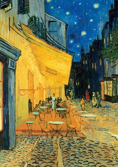 Ravensburger Jigsaw Puzzles - Van Gogh: Cafe Terrace at Night