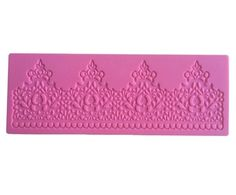 PRETTY LACE Silicone Mould, Cake Decorating, Sugarcraft, Fondant, Chocolate | eBay
