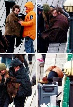Harry did not feel very well, probably because of the cold..