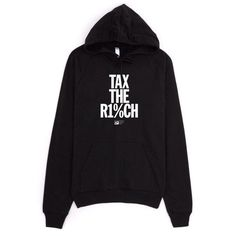 Tax the Rich 2 Hoodie by Mr. Furious - Creative Action Network