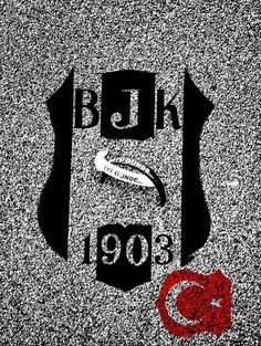 Beşiktaş Gizem ❤️ Sports Clubs, Eagles, Black And White, Wallpaper, Logos, Handmade, Hand Made, Eagle, Black N White