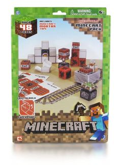 Minecraft - Easy To Build Assortiment (Snow, Shelter, Minecraft) Papercraft  Manufacturer: Abysse Corp Enarxis Code: 018811 #toys #papercraft #Minecraft #videogames