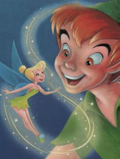 Love this illustration... But it doesn't say who did it. \:   #PeterPan